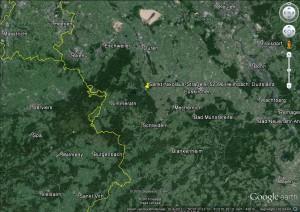 kaart omgeving